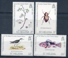St.Helena, michel 276/79, xx