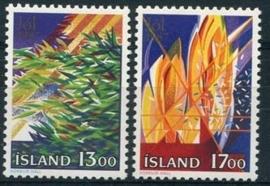 Ysland, michel 678/79, xx
