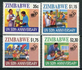 Zimbabwe, michel 564/67, xx