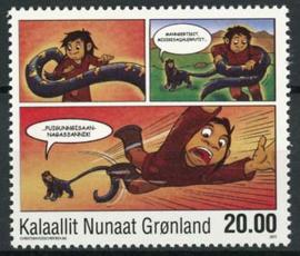 Groenland, michel 589, xx