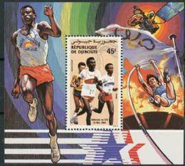 Djibouti, michel blok 103 A, xx