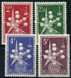 Belgie, obp 1008/10,xx