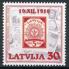 Letland, michel 487, xx