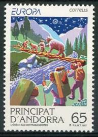 Andorra Sp., michel 253, xx