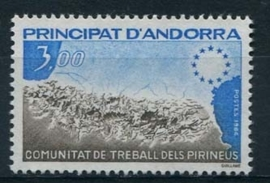 Andorra Fr., michel 349, xx