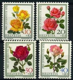 Zwitserland, michel 984/87,xx