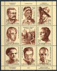 Joegoslavie, michel 2918/25, xx