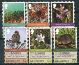 Alderney, michel 547/52, xx