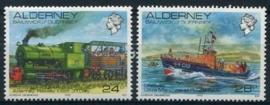 Alderney, michel 59/60, xx