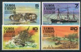 Samoa, michel 214/17, xx
