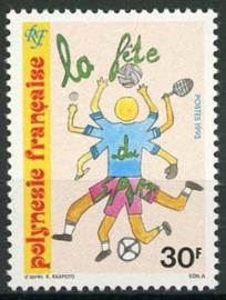 Polynesie, michel 636 , xx