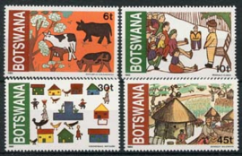 Botswana, michel 291/94, xx