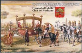 Vaticaan , michel MH 0-6 , xx