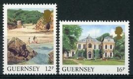 Guernsey, michel 413/14, xx