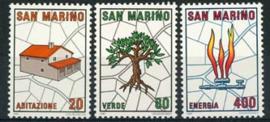 S.Marino, michel 1237/39, xx