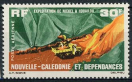 N.Caledonie, michel 406, xx