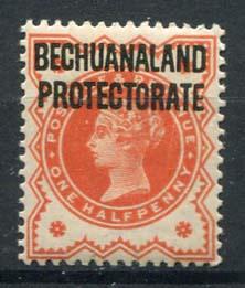 Bechuanaland, michel 46, x