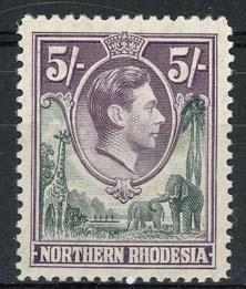 N.Rhodesie, michel 43, x