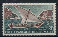 Somalie Frans, michel 361, xx