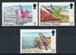Falkland, michel 725/27, xx