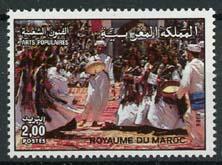 Marokko, michel 1096 , xx