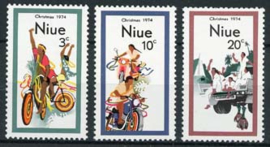 Niue , michel 148/50, xx