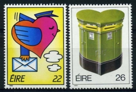 Ierland, michel 584/85, xx