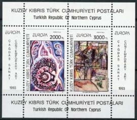 Turks Cyprus, michel blok 12, xx