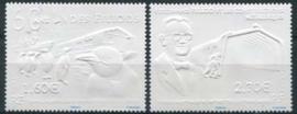 Antarctica Fr., reliefzegels, xx