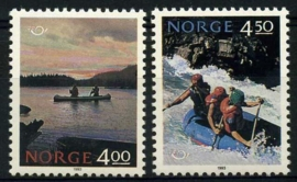 Noorwegen, michel 1123/24, xx