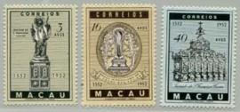 Macau, michel 388/90, xx