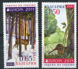 Bulgarije, michel 4989/90 C, xx