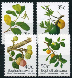 Bophuthatswana, michel 257/60, xx
