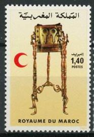 Marokko, michel 1025, xx