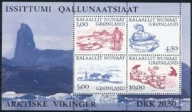 Groenland, michel blok 20 , xx