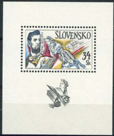 Slowakije, michel blok 2, xx
