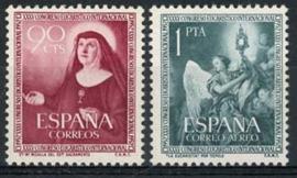 Spanje, michel 1008/09, xx