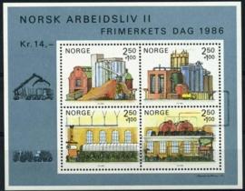 Noorwegen, michel blok 6, xx
