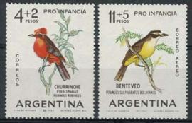 Argentinie, michel 830/31, xx