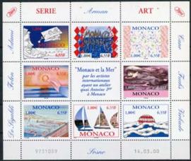 Monaco, michel kb 2490/97, xx