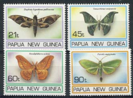 Papua N.Guinea, michel 729/32, xx