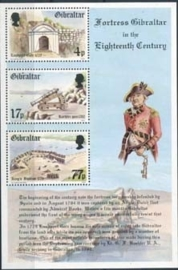 Gibraltar, michel blok 8, xx