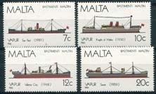 Malta, michel 758/61, xx