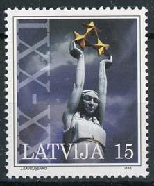 Letland, michel 529c , xx