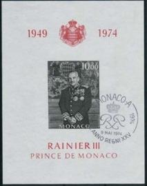 Monaco, michel blok 6, o
