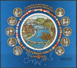 Hongarije, michel blok 180 B,, xx