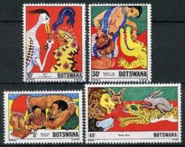 Botswana, michel 253/56, xx