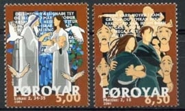 Faroer , michel 412/13 , xx