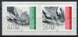 Zwitserland, michel 2208/09, o