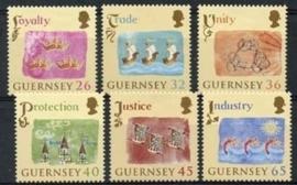 Guernsey, michel 1012/17 A , xx